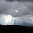 雷丘近くから遠くを望む