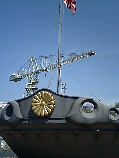 戦艦大和 艦首 菊の御紋章